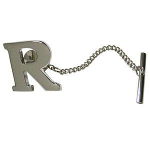 Letter R Tie Tack